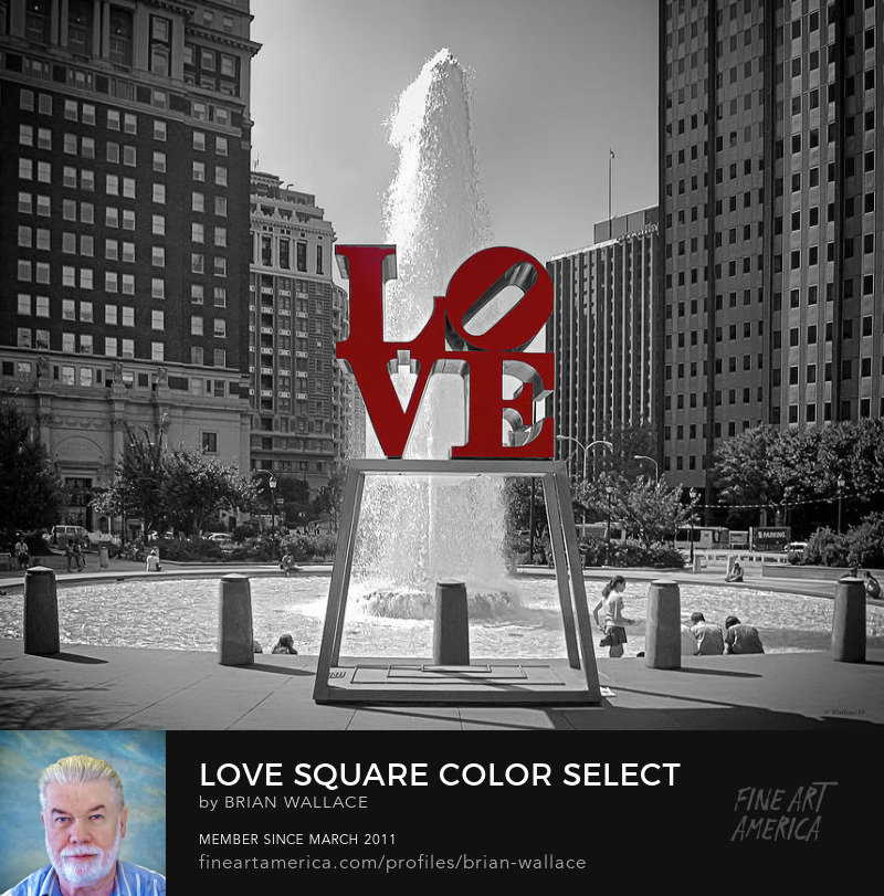 Love Square Color Select by Brian Wallace