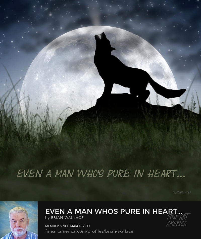 Even A Man Who Is Pure In Heart by Brian Wallace