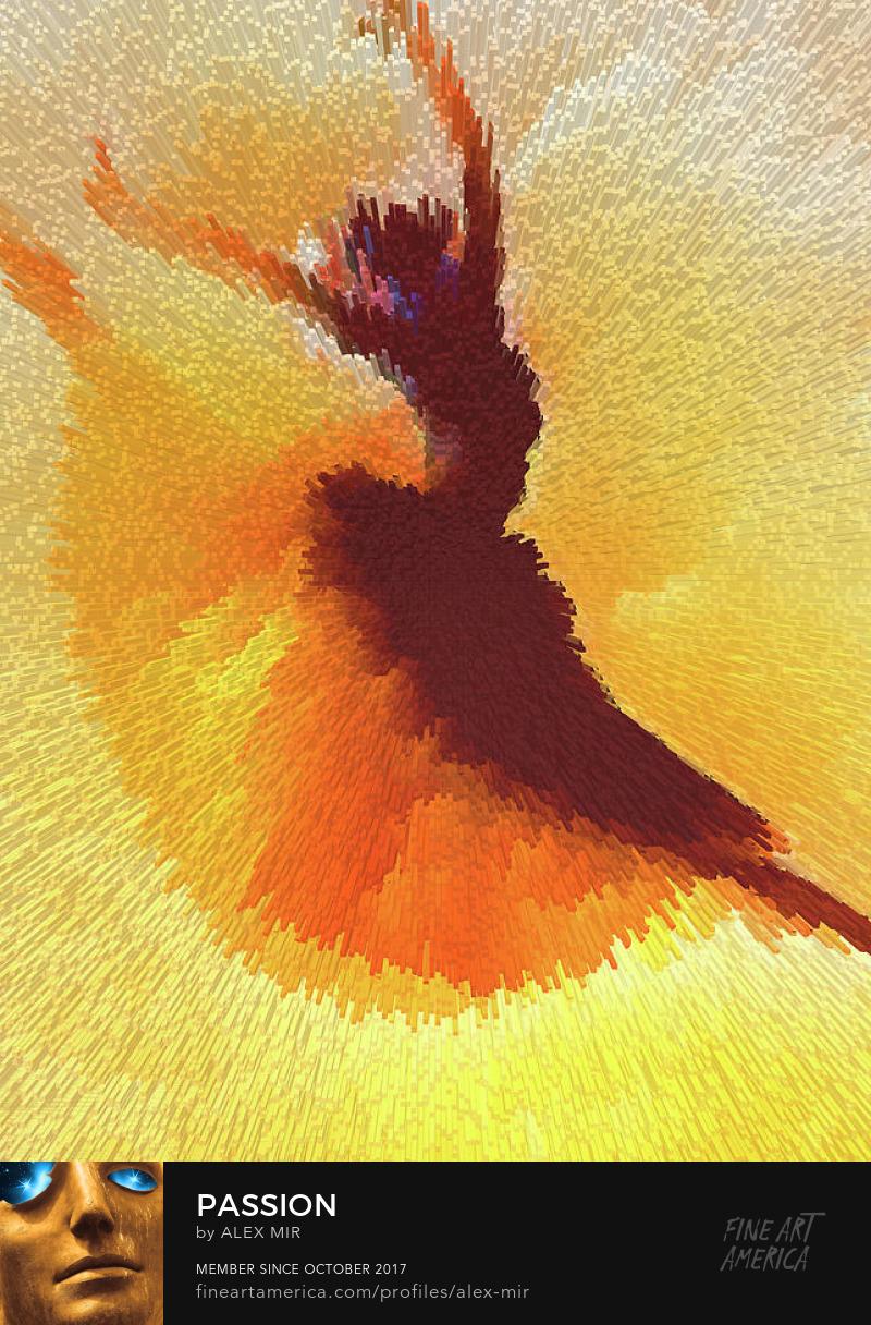 Dance Passion Art Prints