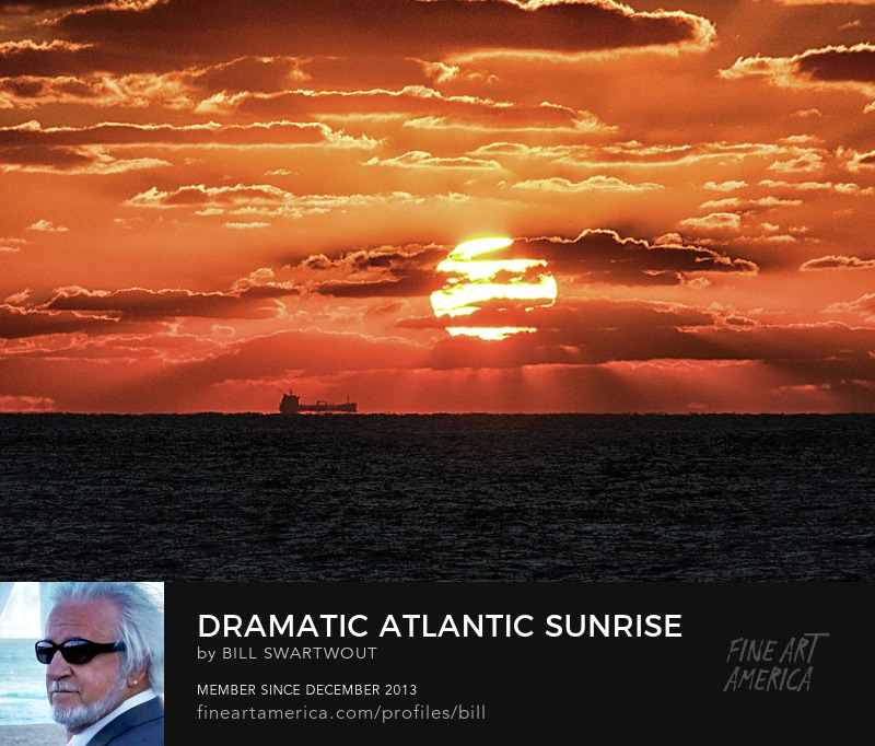 Atlantic Ocean Sunrise Art Photograph