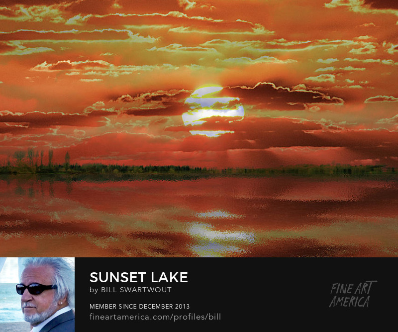 Sunset Lake Prints