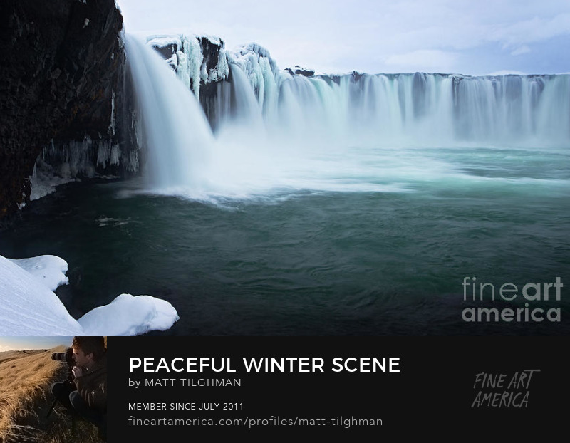 Godafoss Iceland Photography Prints