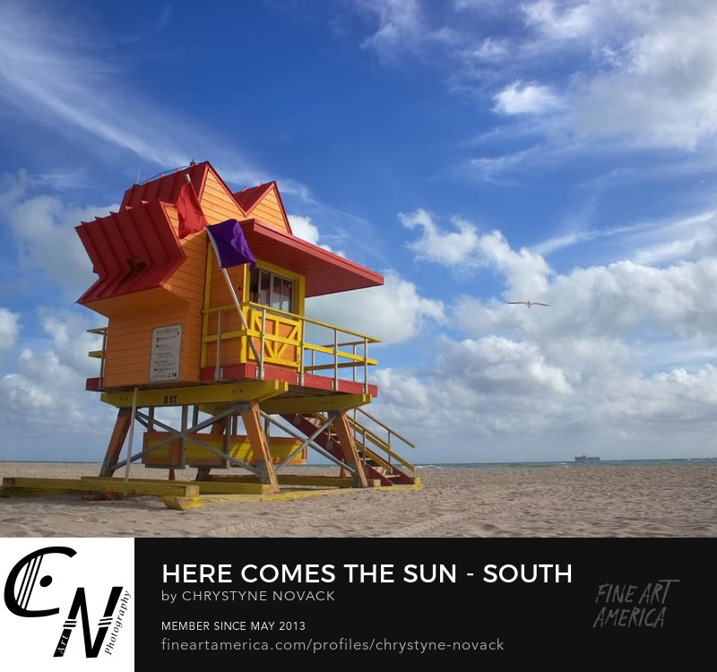 Here Comes The Sun - SoBe Lifeguard Station