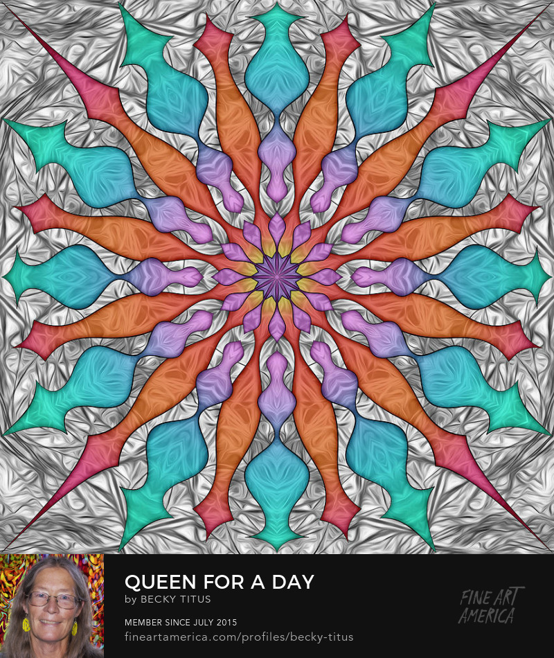 Queen For A Day by Becky Titus' title=