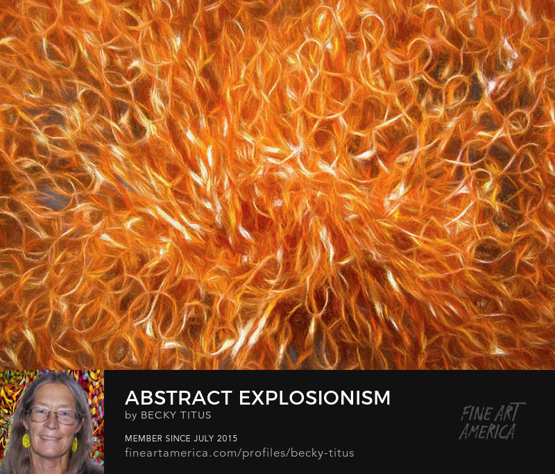 Abstract Explosionism by Becky Titus
