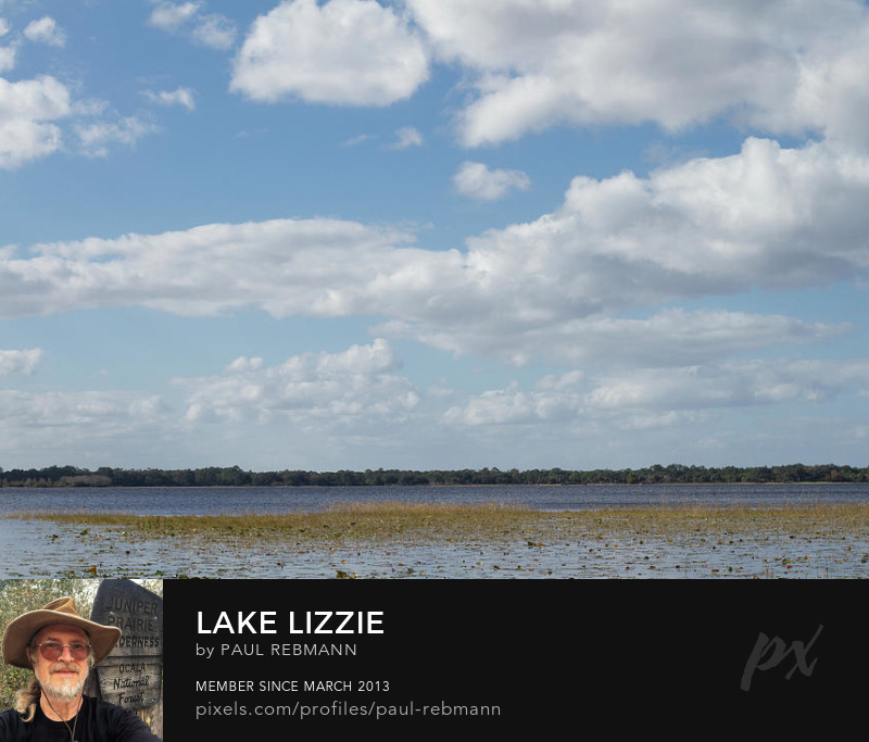 View online purchase options for Lake Lizzie by Paul Rebmann