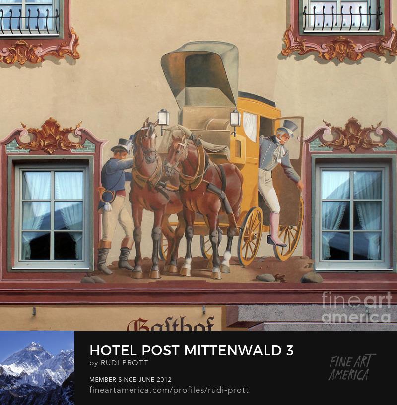 Hotel Post Mittenwald by Rudi Prott