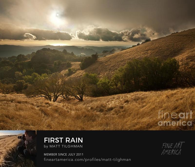 Russian Ridge California Art Prints