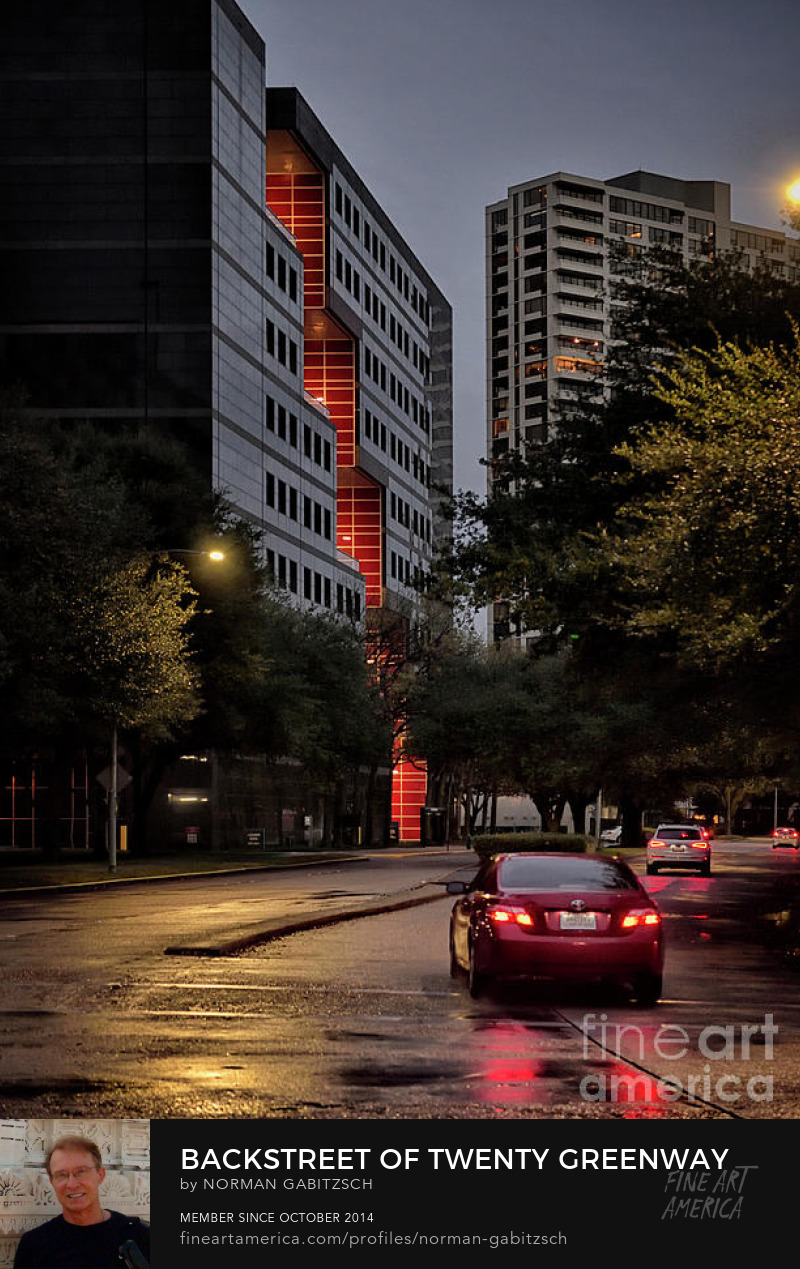 Fine Art Rainy NightPhotography Prints