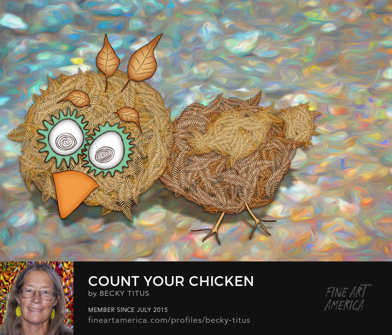Count Your Chicken by Becky Titus