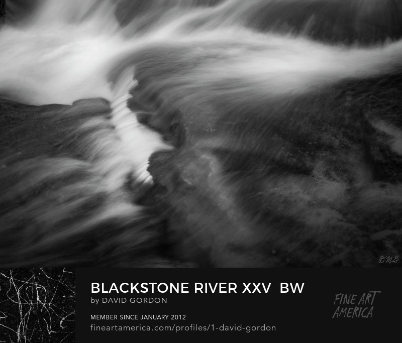 Fine art black and white photograph by Dave Gordon
