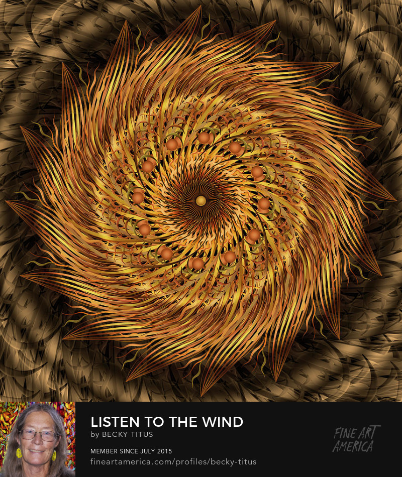 Listen To The Wind by Becky Titus