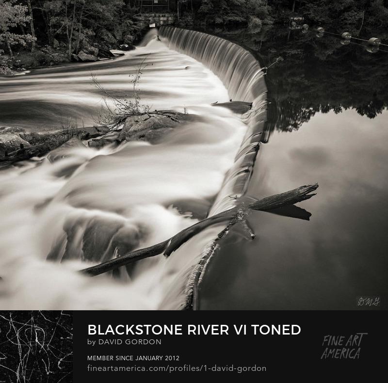 Fine art toned landscape photograph by Dave Gordon
