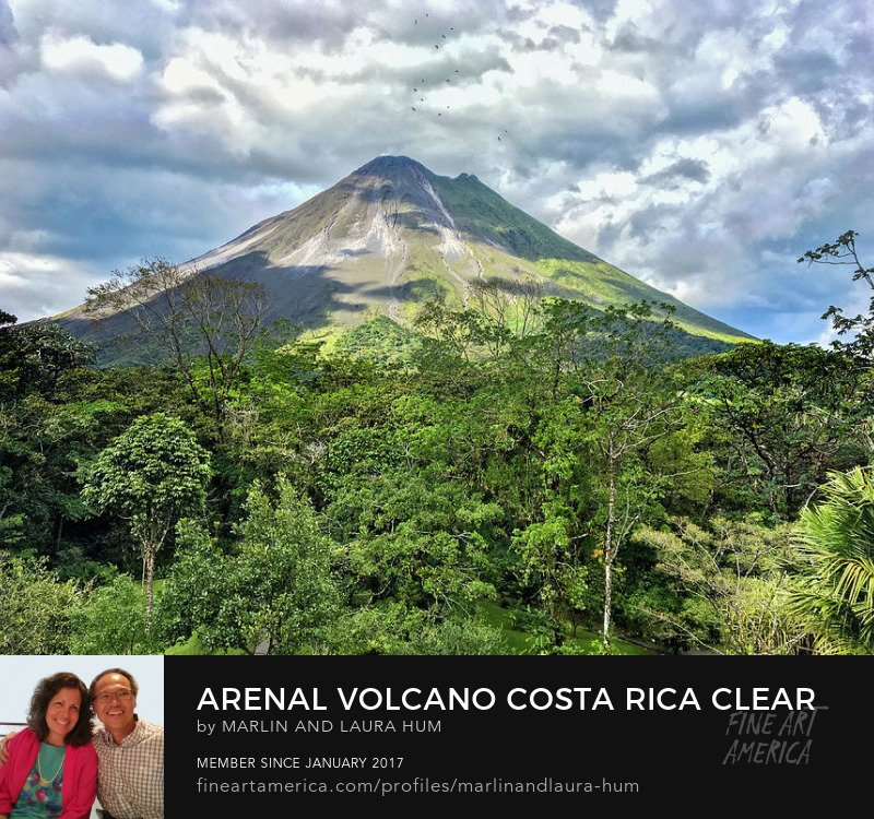 Arenal Volcano Costa Rica Clear View Marlin and Laura Hum