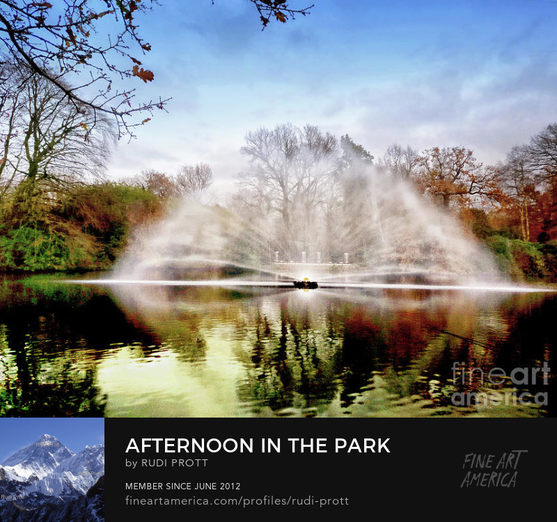 afternoon in the park by Rudi Prott