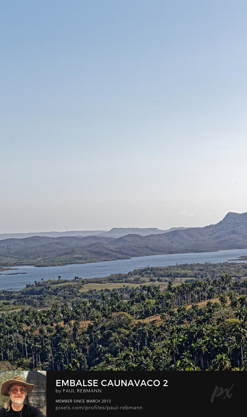 View online purchase options for Embalse Caunavaco #2 by Paul Rebmann