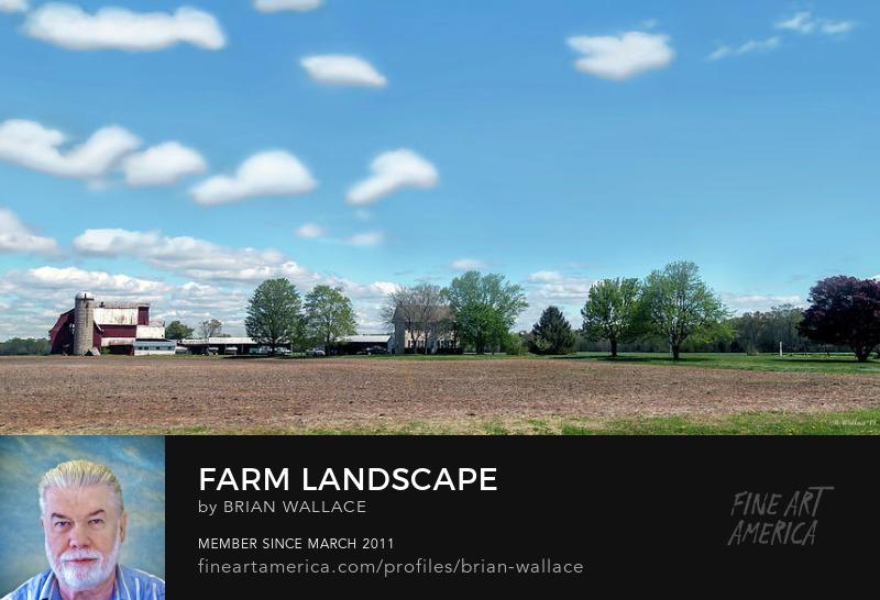 Farm Landscape by Brian Wallace