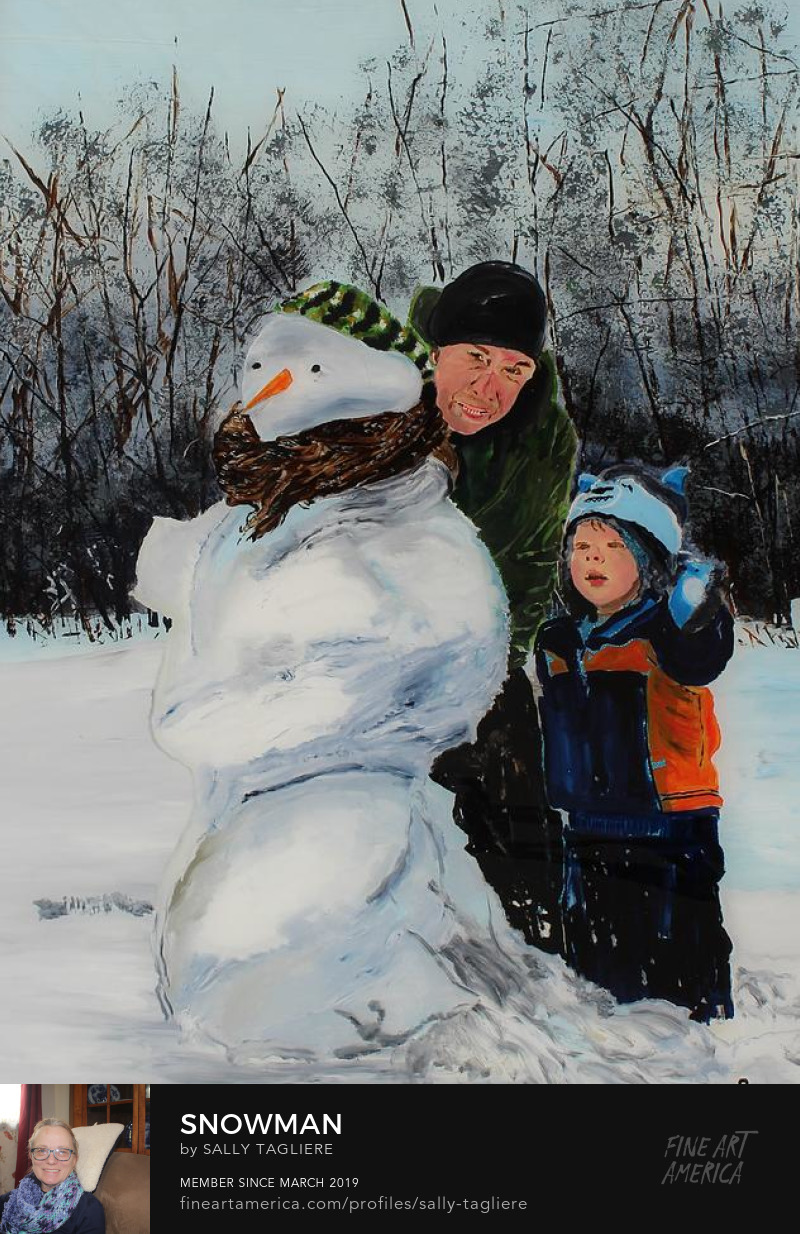 Art Prints of fun in the winter.