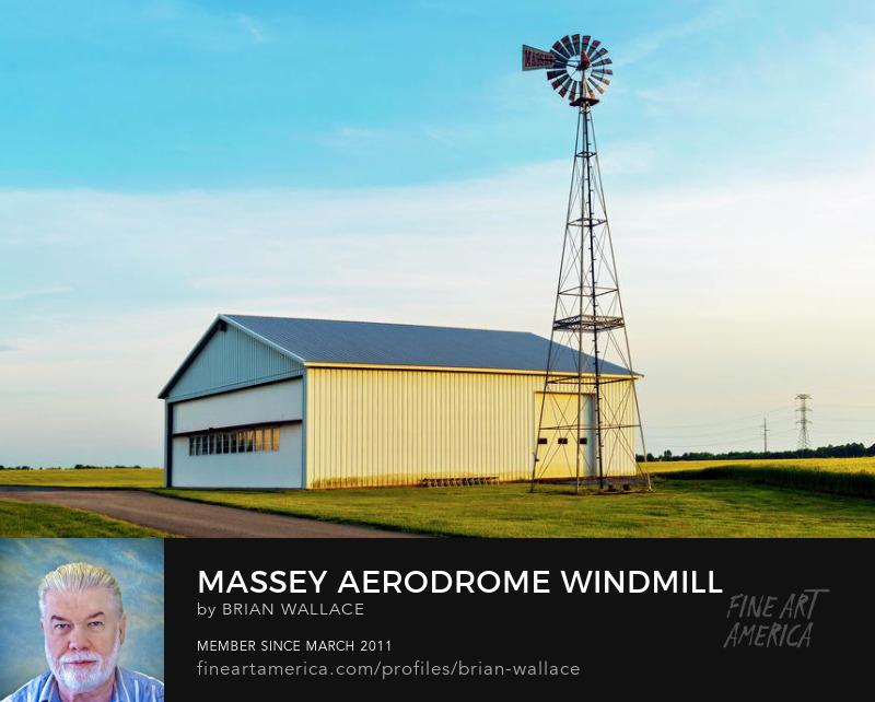 Massey Aerodrome Windmill by Brian Wallace