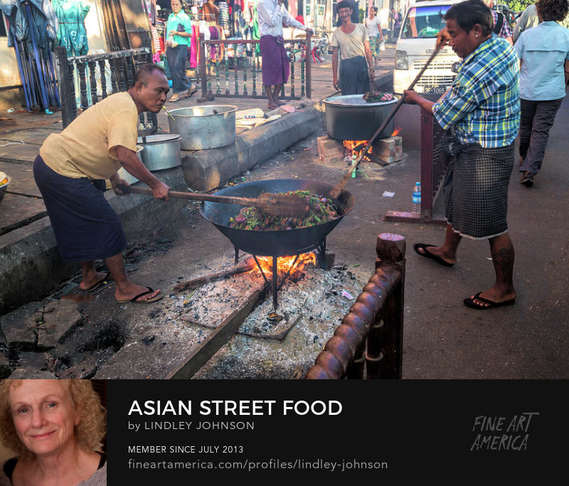asian street food by lindley johnson