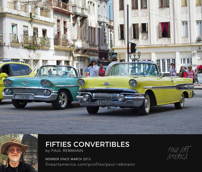 View online purchase options for Fifties Convertibles by Paul Rebmann