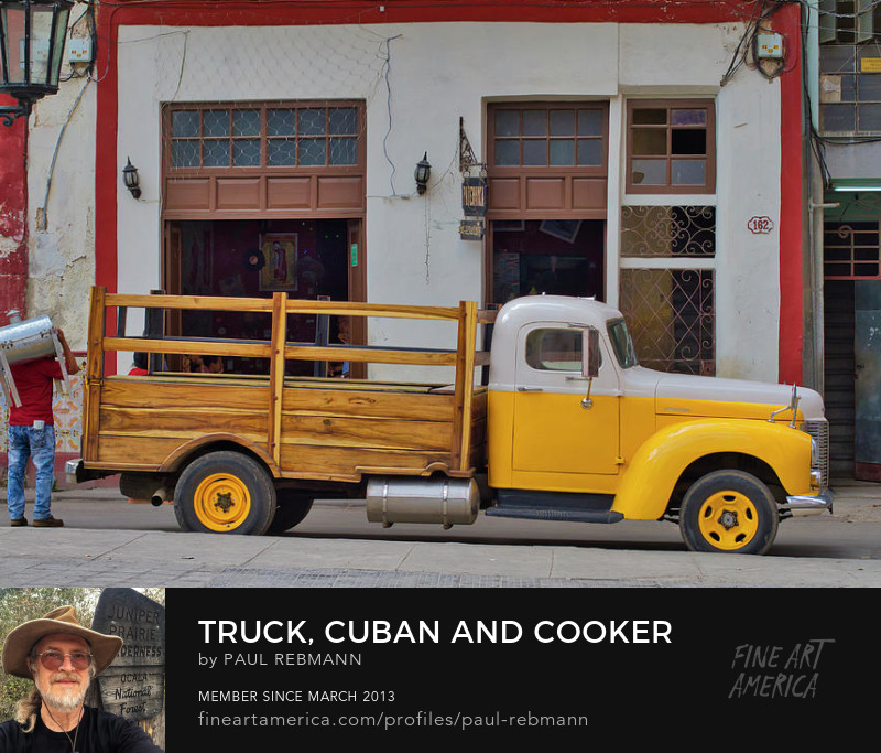 View online purchase options for Truck, Cuban and Cooker by Paul Rebmann