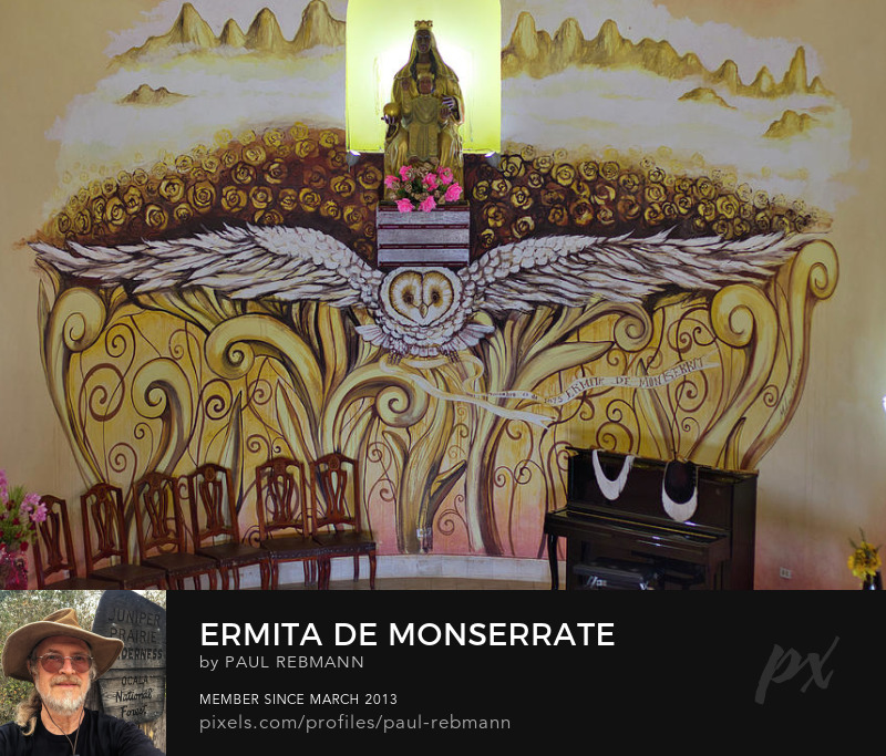 View online purchase options for Ermita de Monserrate by Paul Rebmann