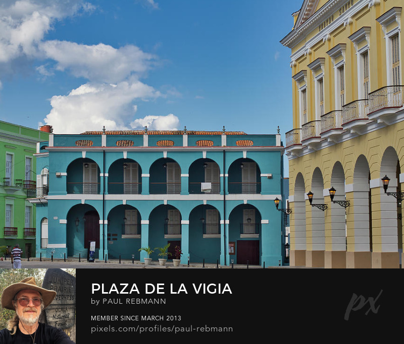 View online purchase options for Plaza de la Vigia by Paul Rebmann