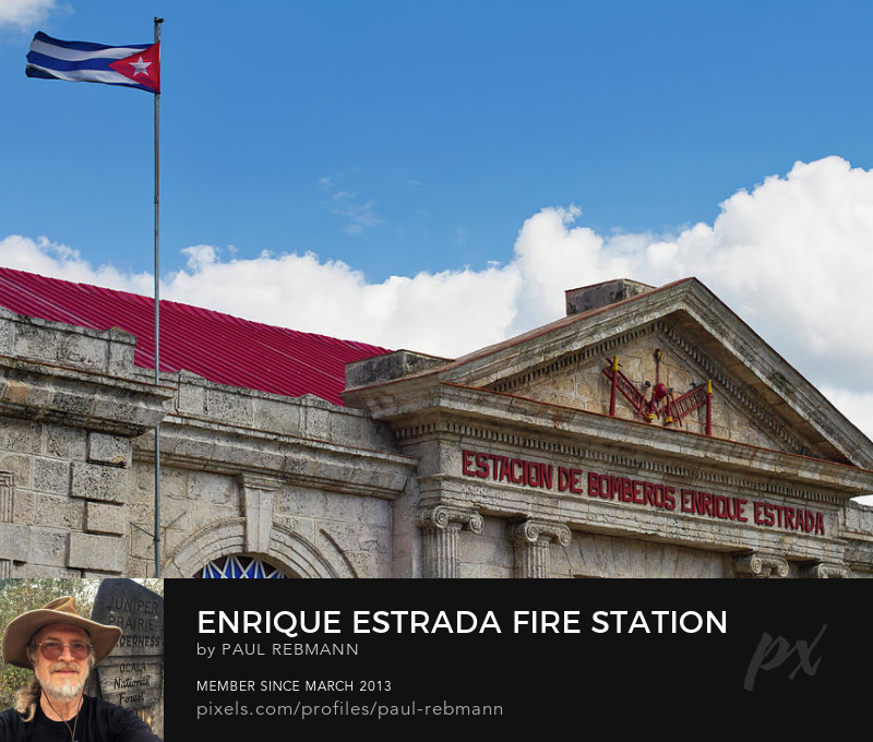 View online purchase options for Enrique Estrada Fire Station by Paul Rebmann