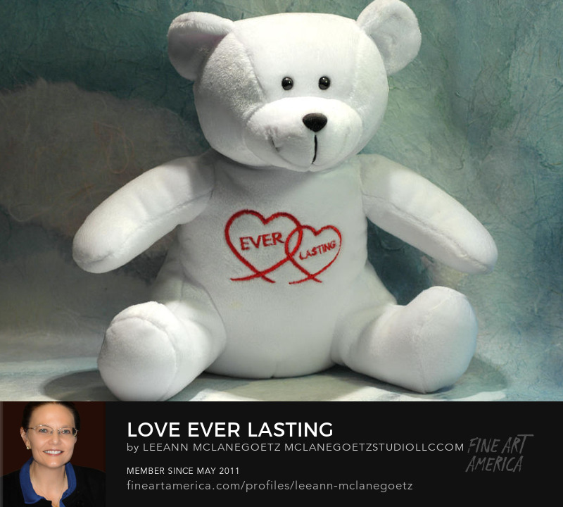McLaneGoetzStudioLLC.com Love Ever Lasting Stuffed Bear