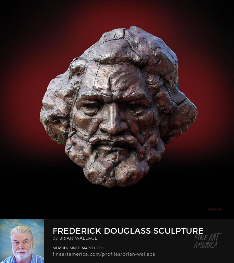 Frederick Douglass Sculpture photographed by Brian Wallace