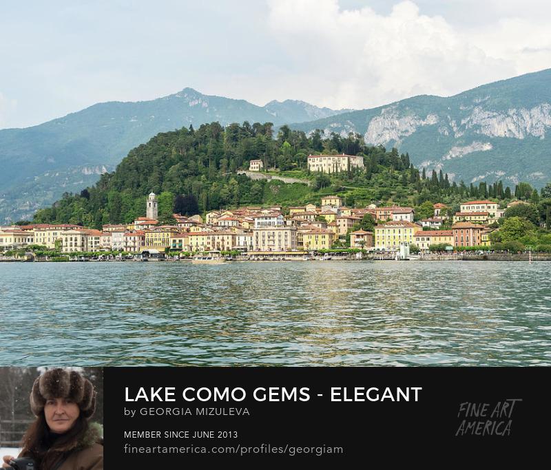 Elegant Bellagio Pearl of Lake Como Georgia Mizuleva Photography