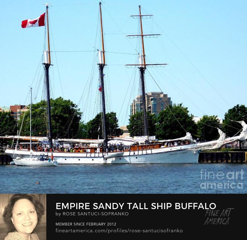 Empire Sandy Tall Ship Buffalo Ny 2019 Photography Prints