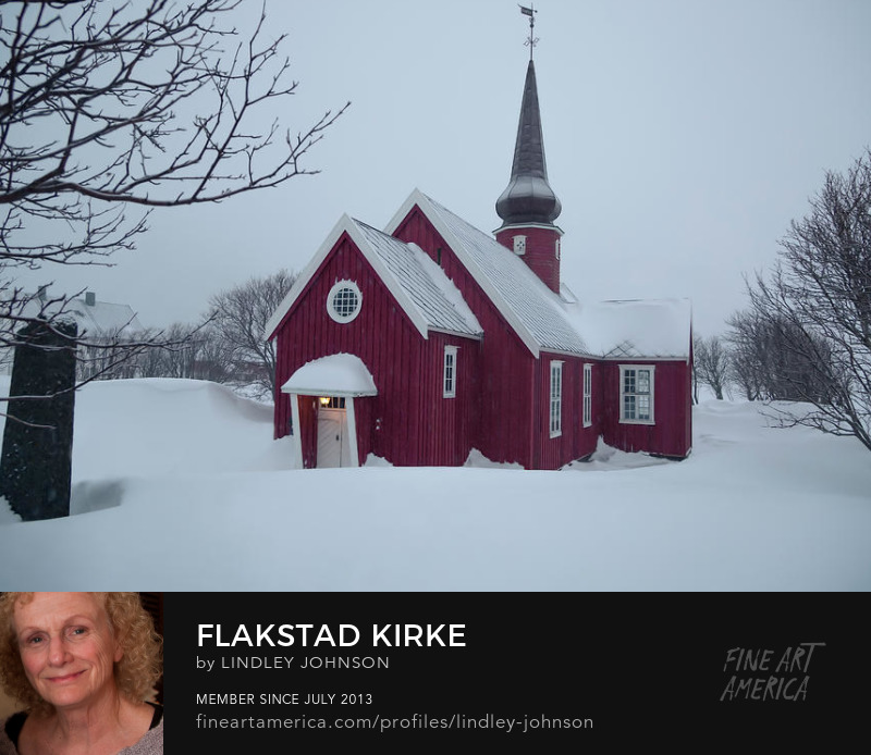 flakstad kirke by lindley johnson
