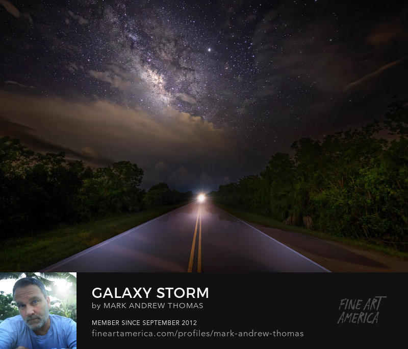 galaxy storm by mark andrew thomas