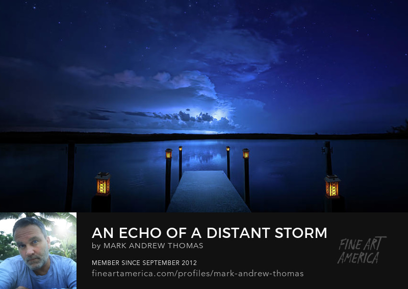 echo of a distant storm by mark andrew thomas