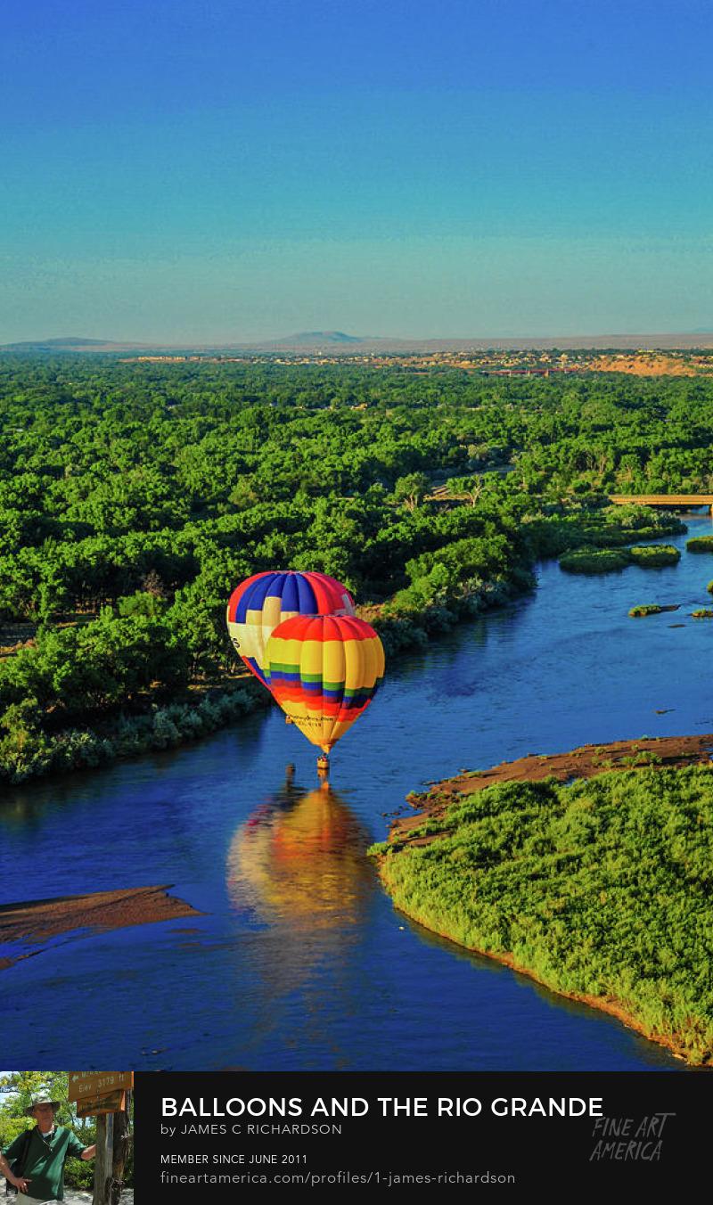 Balloons and the Rio Grande
