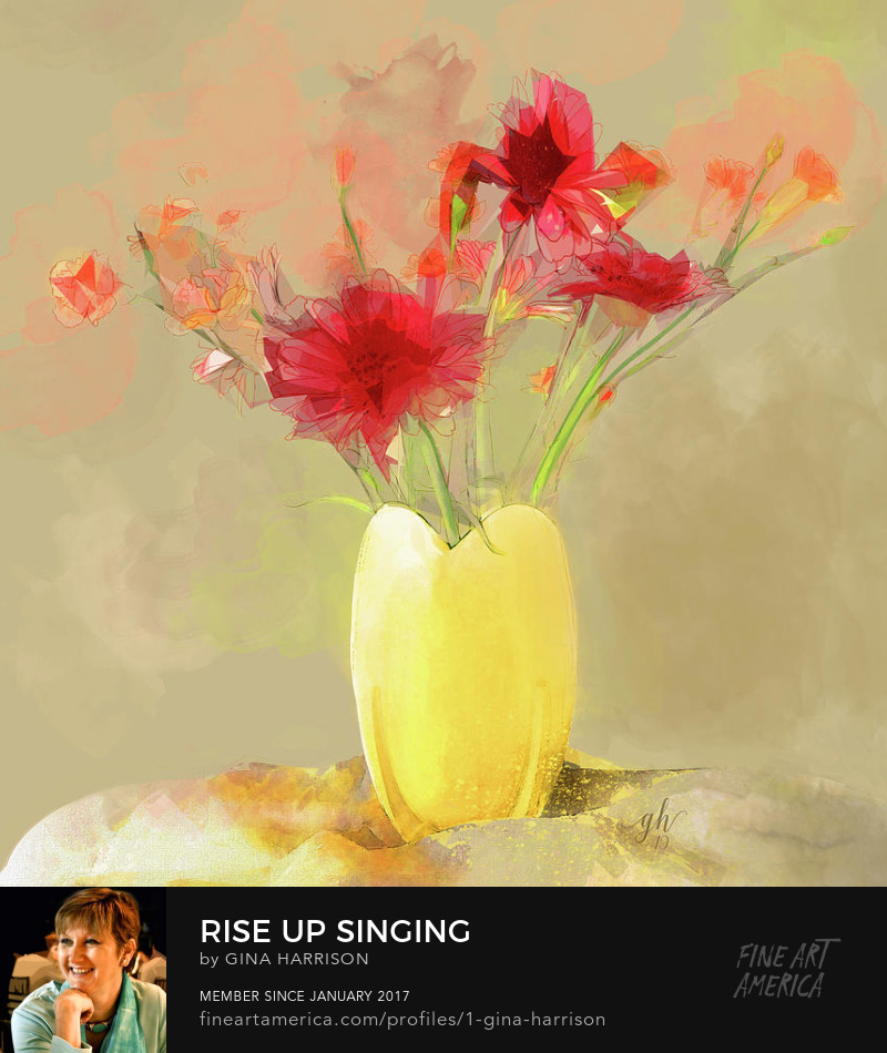 Rise Up Singing by Gina Harrison