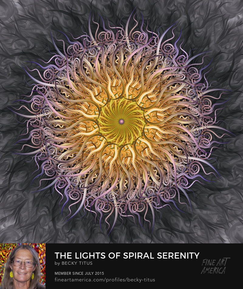 The Lights Of Spiral Serenity by Becky Titus