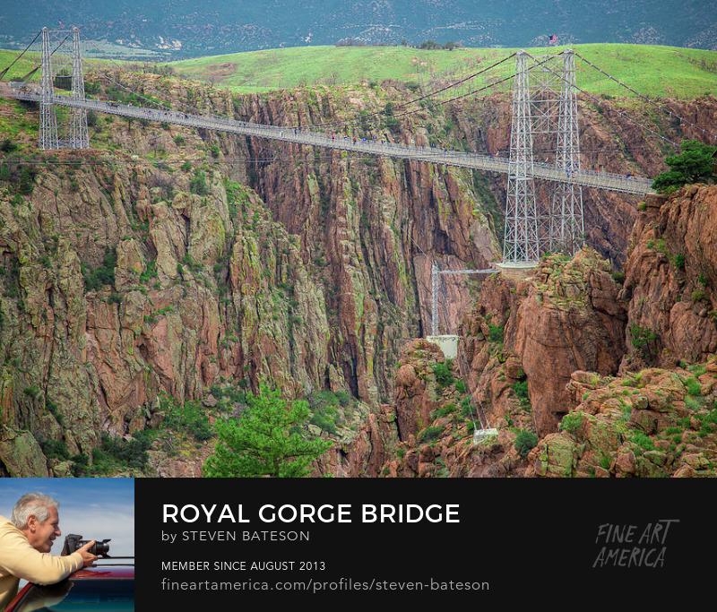 Royal Gorge Bridge by Steven Bateson Colorado Photography