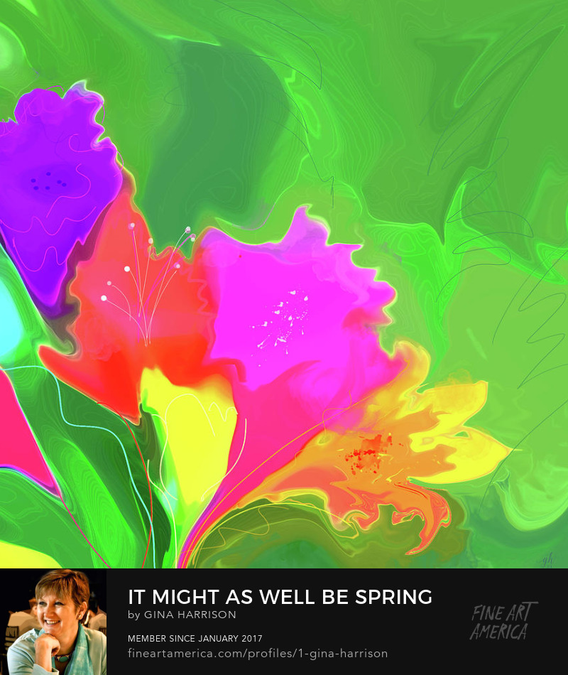 It Might As Well Be Spring by Gina Harrison