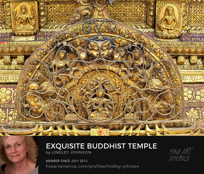 buddhist temple decoration kathmandu nepal lindley johnson