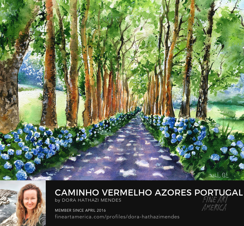azores portugal paintings Wall Art