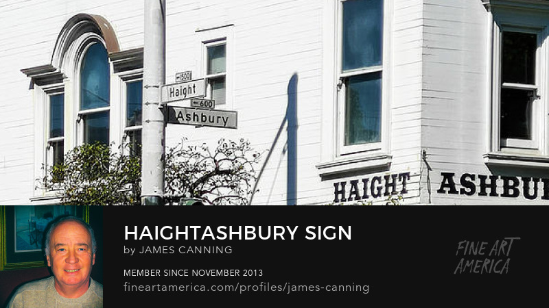 Corner of Haight and Ashbury by james canning