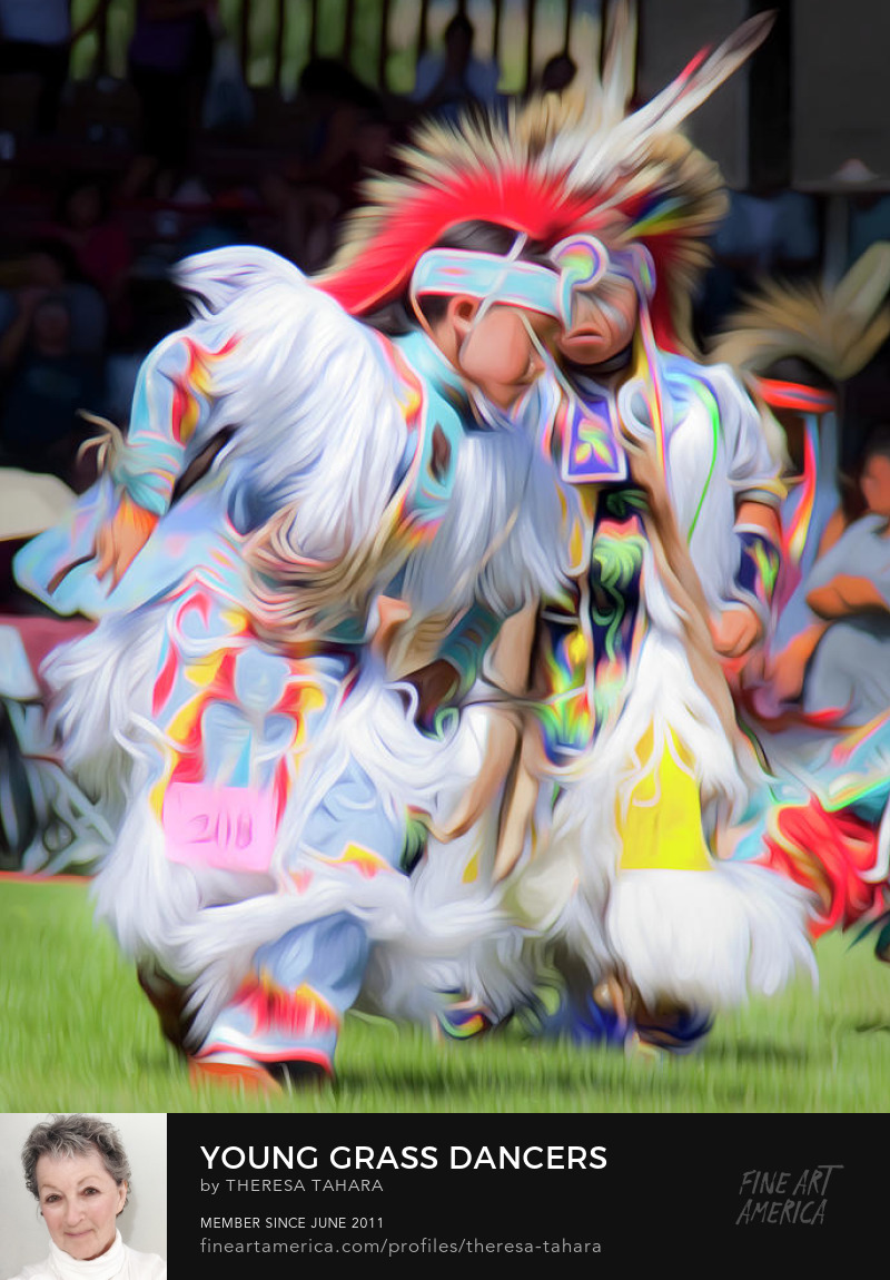 First Nations Art Powwow Dancers for sale