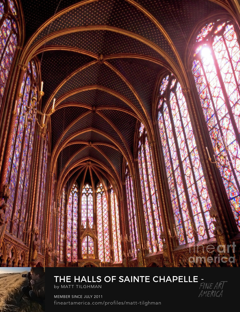 Sainte-Chapelle Paris Art Prints