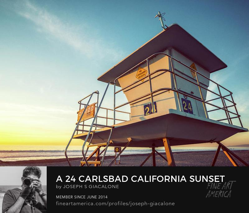 Encinitas California Sunset Coastal Coast