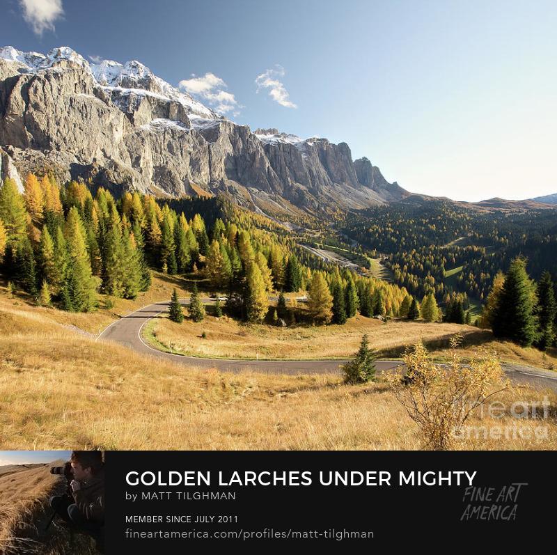 Italian Dolomites Autumn Prints