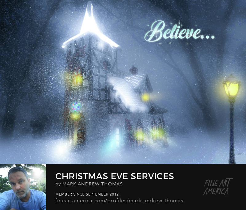 Christmas Eve Services by Mark Andrew Thomas