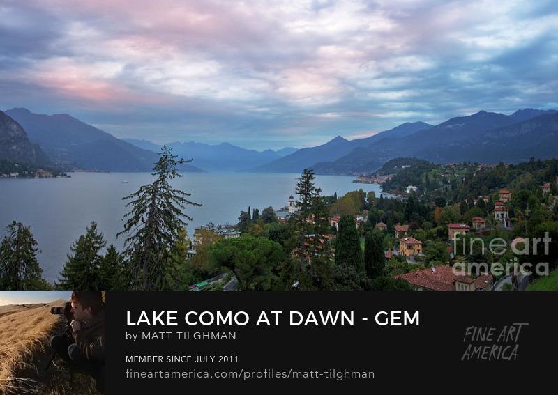 Lake Como Photography Prints